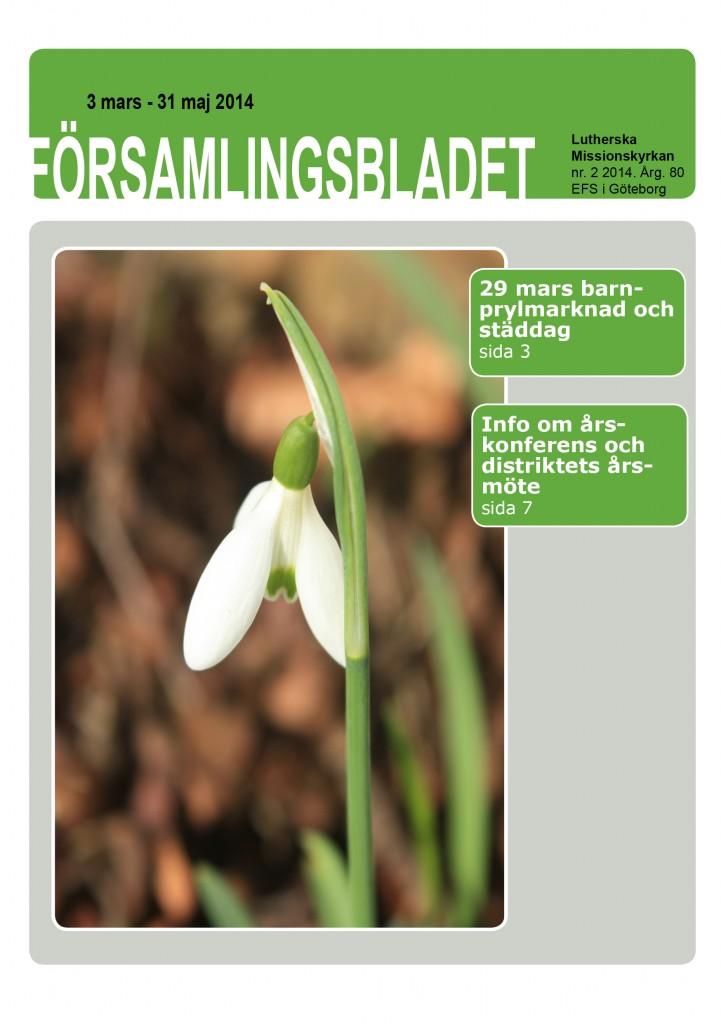 Församlingsblad nr2 2014