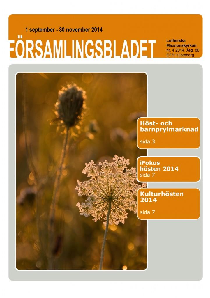 Församlingsblad nr4 2014
